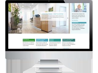 Refresh der Webseite für die physiotherapeutische Praxis Domicella Knieps in Ahrweiler